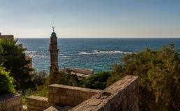 Μιναρές σε παλαιό Jaffa στοκ φωτογραφία