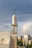 Μιναρές στην Ιερουσαλήμ, Ισραήλ στοκ εικόνα με δικαίωμα ελεύθερης χρήσης