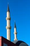 Μιναρές του μουσουλμανικού τεμένους στοκ φωτογραφίες με δικαίωμα ελεύθερης χρήσης