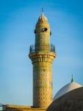 Μιναρές του παλαιού μουσουλμανικού τεμένους στην ακρόπολη Erbil βόρεια του Ιράκ Στοκ Εικόνες