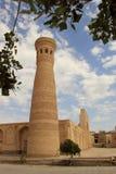 Μιναρές Kalon Xoja στην πόλη της Μπουχάρα, Ουζμπεκιστάν Στοκ Εικόνα