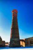 Μιναρές Kalyan μουσουλμανικών τεμενών ως τμήμα po-ι-Kalyan σύνθετη Μπουχάρα, Ουζμπεκιστάν Στοκ φωτογραφίες με δικαίωμα ελεύθερης χρήσης