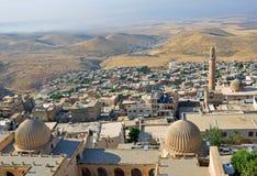 Μιναρή και θόλοι Mardin στοκ φωτογραφίες με δικαίωμα ελεύθερης χρήσης