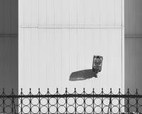 Μινιμαλιστικός τοίχος εγκαταστάσεων στο μινιμαλισμό στοκ φωτογραφία με δικαίωμα ελεύθερης χρήσης
