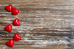 Μινιμαλιστική έννοια για την αγάπη ή την ημέρα βαλεντίνων ` s Αγίου Στοκ Εικόνα