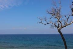 Μινιμαλιστική θάλασσα Στοκ Φωτογραφίες