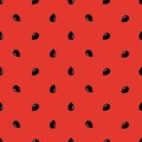 Μινιμαλιστικό καρπούζι υψηλό - ποιοτικό άνευ ραφής σχέδιο Χαριτωμένο άνευ ραφής σχέδιο με τα καρπούζια Διανυσματική ανασκόπηση Αγ Στοκ Φωτογραφίες
