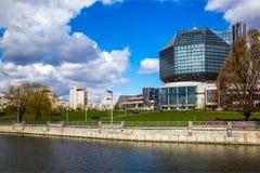 Μινσκ, εθνική βιβλιοθήκη στοκ φωτογραφίες με δικαίωμα ελεύθερης χρήσης