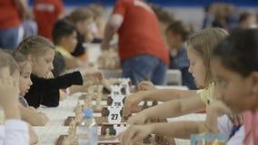 Μινσκ, Λευκορωσία - 22 Ιουνίου 2018 Ð ¡ του διαφορετικού σκακιού παιχνιδιού υπηκοοτήτων απόθεμα βίντεο