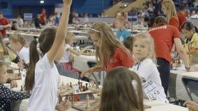 Μινσκ, Λευκορωσία - 22 Ιουνίου 2018 Ð ¡ το διαφορετικό σκάκι παιχνιδιού υπηκοοτήτων φιλμ μικρού μήκους