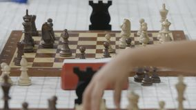 Μινσκ, Λευκορωσία - 22 Ιουνίου 2018 Ð ¡ το σκάκι παιχνιδιού φιλμ μικρού μήκους