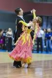 Μινσκ-Λευκορωσία, 16 Μαρτίου: Sergey Domorad – pe Svetlana Domorad Στοκ Εικόνες