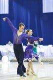Μινσκ-Λευκορωσία, 4.2014 Οκτωβρίου: Μη αναγνωρισμένος επαγγελματικός χορός γ Στοκ φωτογραφία με δικαίωμα ελεύθερης χρήσης
