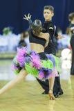 Μινσκ-Λευκορωσία, 5.2014 Οκτωβρίου: Μη αναγνωρισμένος επαγγελματικός χορός γ Στοκ φωτογραφία με δικαίωμα ελεύθερης χρήσης