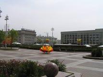 Μινσκ, πλατεία Λένιν Στοκ Εικόνες