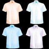 μισά μανίκια πουκάμισων απεικόνιση αποθεμάτων