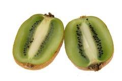 Μισά φρούτων ακτινίδιων Στοκ εικόνες με δικαίωμα ελεύθερης χρήσης