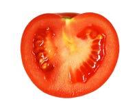 μισή ντομάτα αποκοπών Στοκ φωτογραφίες με δικαίωμα ελεύθερης χρήσης