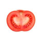 μισή ντομάτα Στοκ Φωτογραφία