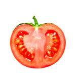 μισή ντομάτα Στοκ Εικόνες