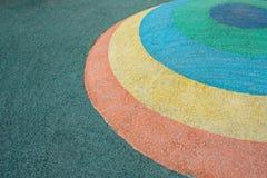 Μισή σφαίρα χρώματος βημάτων Στοκ Εικόνες