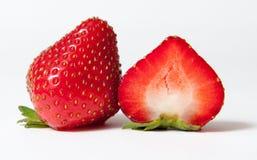μισή φράουλα στοκ εικόνα