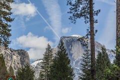 Μισός θόλος - Yosemite Ι Στοκ Φωτογραφία