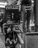 Μισός και μισός Στοκ φωτογραφία με δικαίωμα ελεύθερης χρήσης