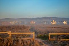 Μισός κόλπος φεγγαριών, Καλιφόρνια Στοκ φωτογραφία με δικαίωμα ελεύθερης χρήσης