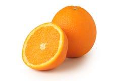 μισός πορτοκαλής Στοκ φωτογραφία με δικαίωμα ελεύθερης χρήσης