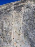Μισό εθνικό πάρκο Yosemite καλωδίων θόλων Στοκ εικόνες με δικαίωμα ελεύθερης χρήσης