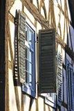 Μισό-εφοδιασμένα με ξύλα κτήρια στη Γερμανία, Michelstadt Στοκ εικόνες με δικαίωμα ελεύθερης χρήσης