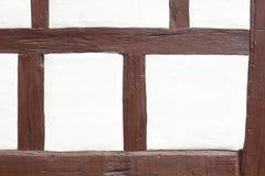 Μισό-εφοδιασμένος με ξύλα τοίχος σπιτιών Στοκ φωτογραφία με δικαίωμα ελεύθερης χρήσης