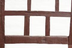 Μισό-εφοδιασμένος με ξύλα τοίχος σπιτιών Στοκ Εικόνες