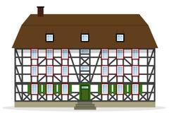 Μισό-εφοδιασμένο με ξύλα η Νίκαια σπίτι Στοκ εικόνα με δικαίωμα ελεύθερης χρήσης