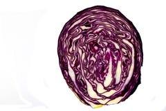 μισό κεφάλι λάχανων Στοκ Φωτογραφίες