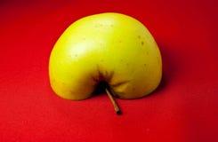 Μισό μήλο Στοκ Εικόνα