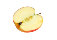 Μισό μήλο Στοκ φωτογραφία με δικαίωμα ελεύθερης χρήσης