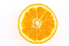μισό πορτοκάλι αποκοπών Στοκ φωτογραφία με δικαίωμα ελεύθερης χρήσης