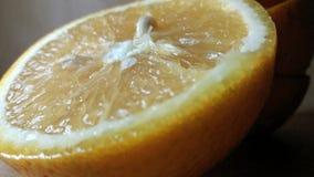 μισό πορτοκάλι στοκ φωτογραφία