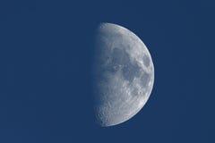 Μισό φεγγάρι με τις αιχμηρές λεπτομέρειες Στοκ Εικόνες