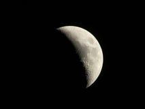 Μισό φεγγάρι Στοκ Φωτογραφίες