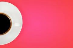 Μισό φλιτζάνι του καφέ Στοκ εικόνες με δικαίωμα ελεύθερης χρήσης