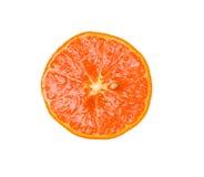 μισό tangerine Στοκ εικόνες με δικαίωμα ελεύθερης χρήσης