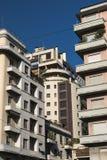 Μιλάνο Ιταλία: κτήρια στο viale Cassiodoro Στοκ Φωτογραφία