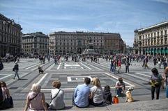 Μιλάνο Ιταλία στοκ φωτογραφία