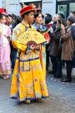 Μιλάνο, Μιλάνο, κινεζικό νέο year'eve Στοκ Εικόνες