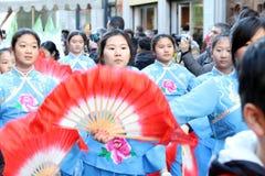 Μιλάνο, Μιλάνο, κινεζικό νέο year'eve Στοκ εικόνες με δικαίωμα ελεύθερης χρήσης
