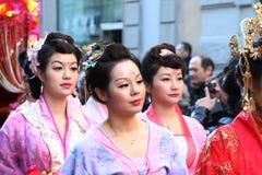Μιλάνο, Μιλάνο, κινεζικό νέο year'eve Στοκ εικόνα με δικαίωμα ελεύθερης χρήσης