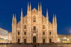Μιλάνο Duomo Στοκ Εικόνες